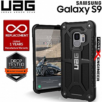UAG Monarch for Samsung Galaxy S9 Military Drop Protection - Black Color