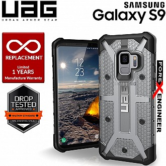 UAG Plasma for Samsung Galaxy S9 Feather-Light Rugged Military Drop Protection - Ice Color