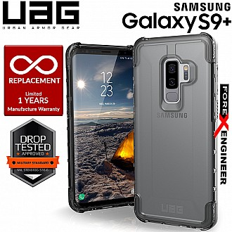 UAG Plyo for Samsung Galaxy S9+ / S9 Plus Feather-Light Rugged Military Drop Protection - Ice Color