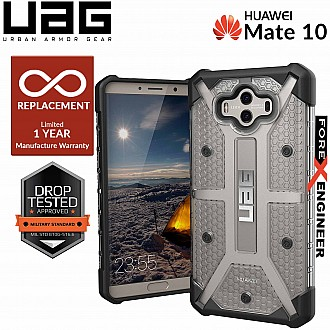 UAG Plasma for Huawei Mate 10 - Feather-Light Rugged Military Drop Tested - Ice color