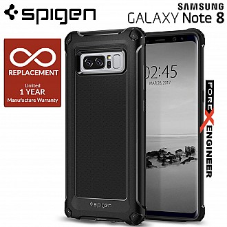 Spigen Rugged Armor EXTRA Case for Samsung Galaxy Note 8 - Black color