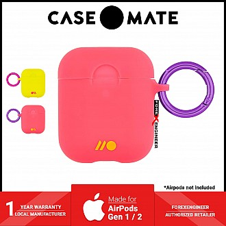 Case Mate Hook Ups Case for Airpods 1 / 2 - Living Coral Light Pink (Barcode: 846127185349 )