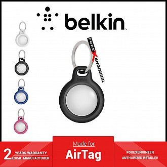 Belkin Secure Holder with Key Ring for AirTag Case - Black (Barcode: 745883786176 )