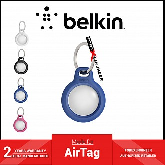 Belkin Secure Holder with Key Ring for AirTag Case - Blue (Barcode: 745883786183 )