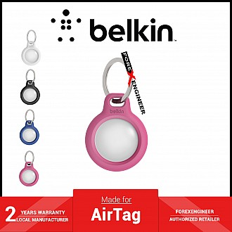 Belkin Secure Holder with Key Ring for AirTag Case - Pink (Barcode: 745883786190 )