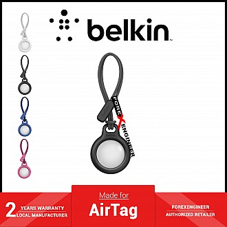 Belkin Secure Holder with Strap for AirTag - Black (Barcode: 745883786251 )