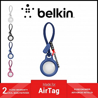 Belkin Secure Holder with Strap for AirTag - Blue (Barcode: 745883786268 )