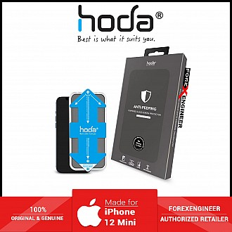 Hoda Tempered Glass Screen Protector iPhone 12 mini with Helper ( 2.5D 0.33mm Full Coverage ) - Corning Glass (Barcode: 4713381518939 )