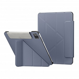 """SwitchEasy Origami for iPad Pro 11"""" / Air 10.9"""" ( 2021 - 2018 ) M1 Chip - Alaskan Blue (Barcode: 4895241101076 )"""