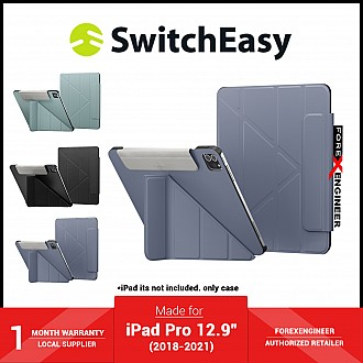 """SwitchEasy Origami for iPad Pro 12.9"""" ( 2021 - 2018 ) M1 Chip - Alaskan Blue (Barcode: 4895241101106 )"""