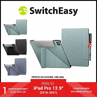 """SwitchEasy Origami for iPad Pro 12.9"""" ( 2021 - 2018 ) M1 Chip - Exquisite Blue (Barcode: 4895241101090 )"""