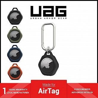 UAG Scout for AirTag Case - Impact Resistance - Black (Barcode: 810070366216 )