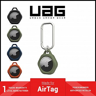 UAG Scout for AirTag Case - Impact Resistance - Olive (Barcode: 810070366230 )
