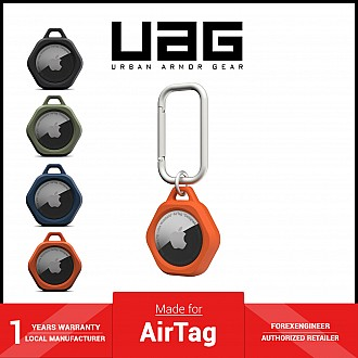 UAG Scout for AirTag Case - Impact Resistance - Orange (Barcode: 810070366247 )