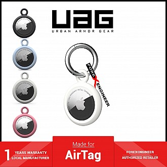 UAG [U] Dot Keychain for AirTag Case - Marshmallow (Barcode: 810070366261 )