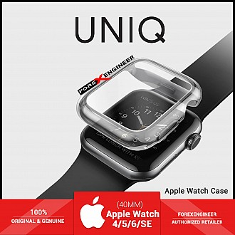UNIQ Garde Protective Case for Apple Watch for Series SE / 6 / 5 / 4 ( 40mm) - Tinted Grey ( Barcode : 8886463669587 )