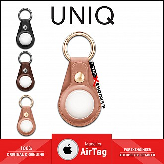 UNIQ Domus Case for AirTag - Include 1 set front & back protective films - Pink (Barcode: 8886463677377 )