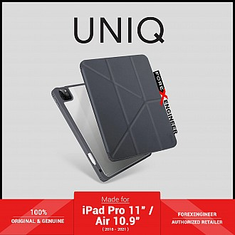 """UNIQ Moven for iPad Pro 11"""" ( 3rd / 2nd / 1st Gen ) ( 2021 - 2018 ) / iPad Air 10.9"""" ( 4th Gen )  M1 Chip - Grey (Barcode: 8886463677421 )"""