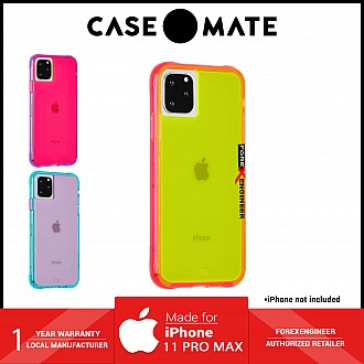 Case Mate Tough Neon for iPhone 11 Pro Max  - Green / Pink ( Barcode : 846127185981 )