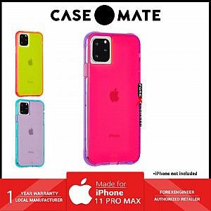 Case Mate Tough Neon for iPhone 11 Pro Max - Pink / Purple ( Barcode : 846127186001 )