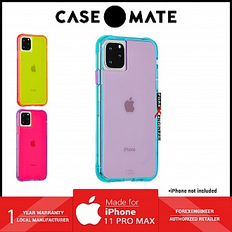 Case Mate Tough Neon for iPhone 11 Pro Max - Purple / Turquoise ( Barcode : 846127185998 )