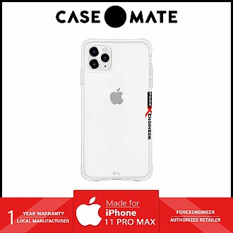 Case Mate Tough for iPhone 11 Pro Max - Clear (Barcode: 846127185936 )