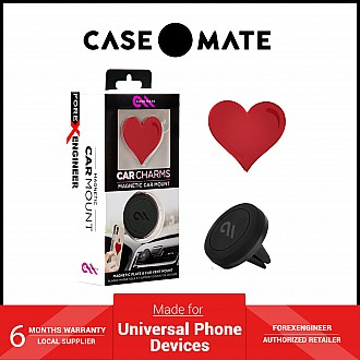 Case-Mate Magnetic Car Mount -Red Heart (Barcode: 846127184342 )