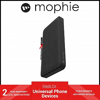 Mophie Powerstation 10,000mAh PD 18W USB-C PD fast charge Powerbank (Fabric) - Black ( Barcode: 840056143050 )