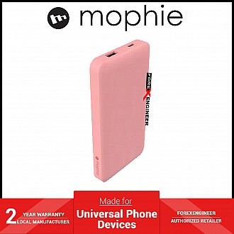 Mophie Powerstation 10,000mAh PD 18W USB-C PD fast charge Powerbank (Fabric) - Pink ( Barcode: 840056127586 )