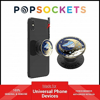PopSockets Swappable PopGrip Enamel Fly Me To Moon ( Barcode : 842978187082 )