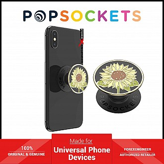 PopSockets Swappable PopGrip Enamel Here Comes The Sun Black ( Barcode : 842978165936 )
