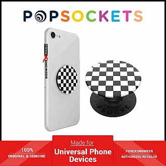 PopSockets Swappable PopGrip Graphics Checker Black ( Barcode : 842978135052 )