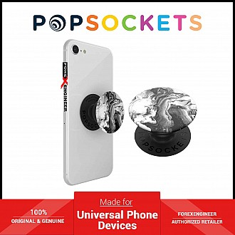 PopSockets Swappable PopGrip Graphics Ghost Marble ( Barcode : 842978135106 )