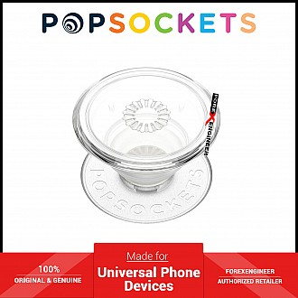PopSockets Swappable Popgrip Premium - Clear ( Barcode : 840173707357 )