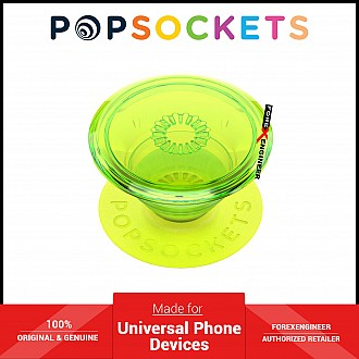 PopSockets Swappable Popgrip Premium - Neon Glow Blazing Lime ( Barcode : 842978185699 )