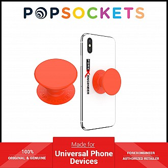 PopSockets Swappable PopGrip - Neon Electric Orange ( Barcode : 842978167190 )