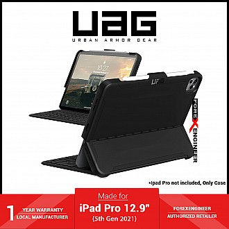 """UAG Scout for iPad Pro 12.9"""" 5th Gen ( 2021 ) - Black (Barcode: 810070360153 )"""