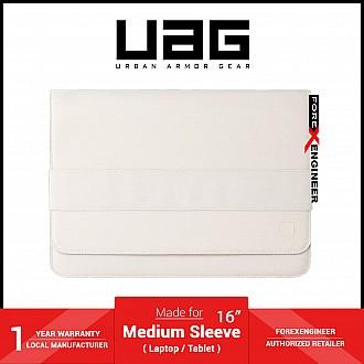 """UAG [U] Mouve Large Sleeve 16"""" for Laptop / Tablet - Marshmallow (Barcode: 812451038507 )"""