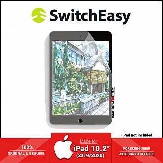 """Switcheasy Paperlike for iPad 10.2 inch / 10.2"""" ( 2020 - 2019 ) 7th / 8th GEN - Screen Protector ( Barcode : 4897094564527 )"""