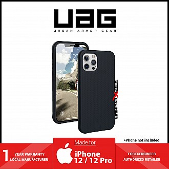 """UAG [U] Dot Silicone Series for iPhone 12 / 12 Pro 5G 6.1"""" - Black ( Barcode : 810070360788 )"""