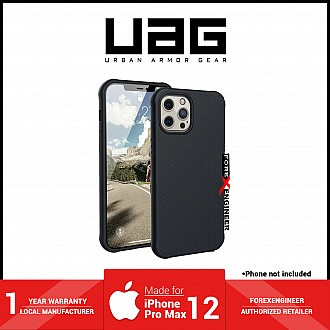"""UAG [U] Dot Silicone Series for iPhone 12 Pro Max 5G 6.7"""" - Black ( Barcode : 810070360818 )"""