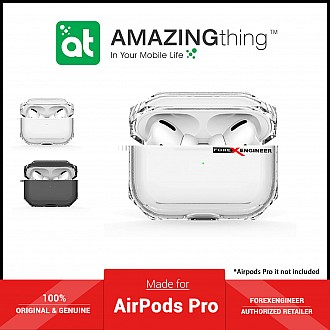 AmazingThing Outre Drop Proof for AirPods Pro - White (Barcode: 4892220389111 )