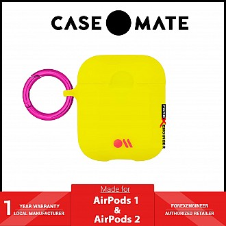 Case-Mate AirPods Hook Ups Case & Neck Strap - Lemon Lime Yellow (Barcode: 846127185332 )