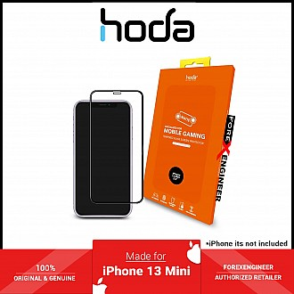 """Hoda Tempered Glass for iPhone 13 Mini 5.4"""" 5G ( 2.5D 0.33mm Full Coverage ) - Matte (Barcode: 4711103541739 )"""