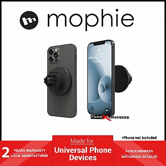 Mophie Snap Vent Mount - Universal Magnetic Car Mount - Black (Barcode: 840056140066 )