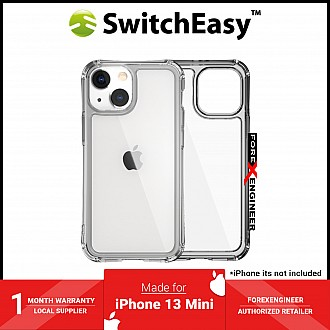 """SwitchEasy Alos for iPhone 13 Mini 5.4"""" 5G - Anti-Microbial Shockproof - Clear (Barcode: 4895241101526 )"""