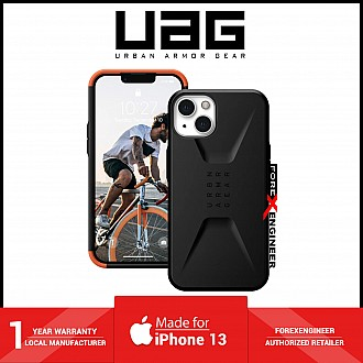 """UAG Civilian for iPhone 13 5G 6.1"""" - Black  (Barcode: 810070364465)"""