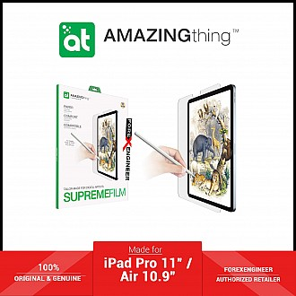 """AMAZINGTHING Paperlike Texture Film for iPad Pro 11"""" / iPad Air 10.9"""" (2021-2018) - Paper Texture Screen Protector 0.2mm - Matte (Barcode: 4892878061629 )"""