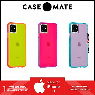 Case Mate Tough Neon for iPhone 11 - Green / Pink ( Barcode : 846127185813 )