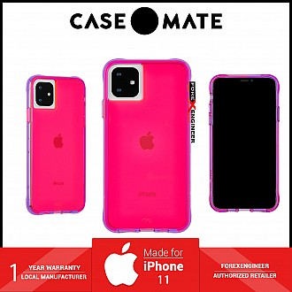 Case Mate Tough Neon for iPhone 11 - Pink / Purple ( Barcode : 846127185837 )